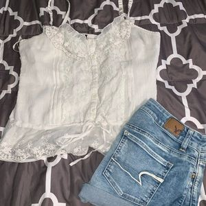 Rue 21 Lace Sheer Cami
